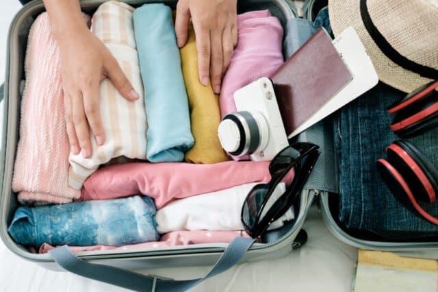 Ordenar una maleta para viajar