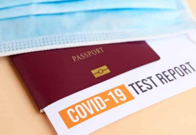 Test de Covid-19 para viajar