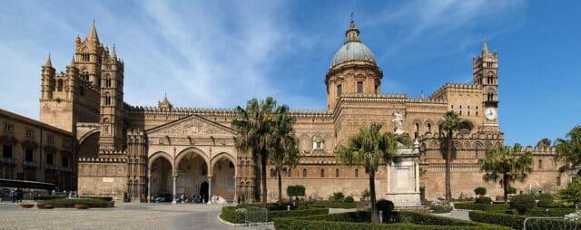 Catedral de Palero en Sicilia, Italia (Cattedrale di Palermo)