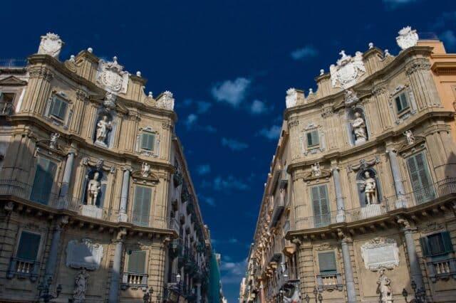 LOs Quattro Canti en Palermo